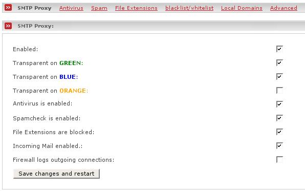UinC: Прокси-сервер - Anti-Spam SMTP Proxy